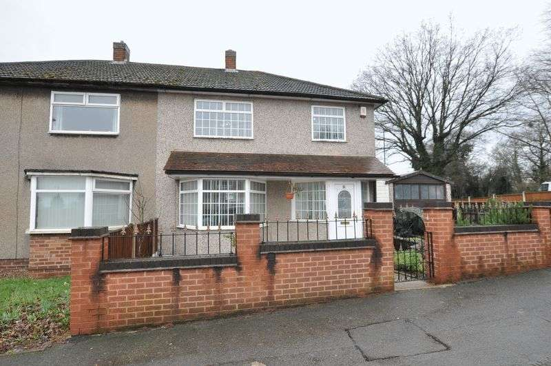 3 Bedrooms Semi Detached House for sale in Moorgate, Mackworth
