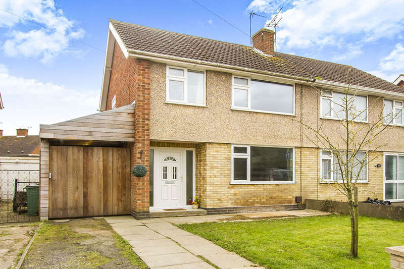 3 Bedrooms Semi Detached House for sale in Laurel Road, Blaby, Leicester, LE8