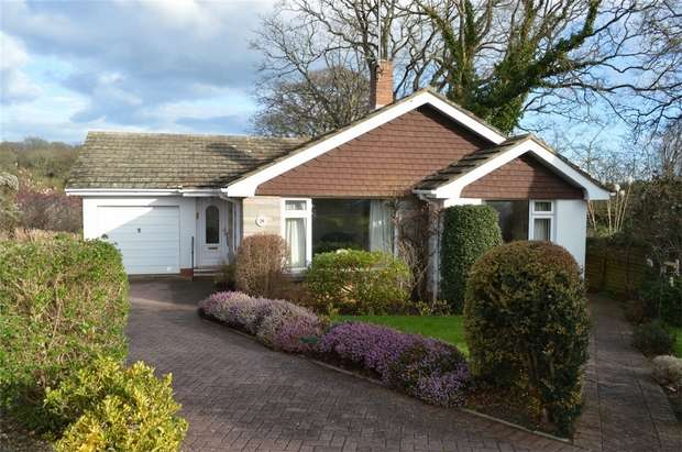 2 Bedrooms Detached Bungalow for sale in Warneford Gardens, EXMOUTH, Devon