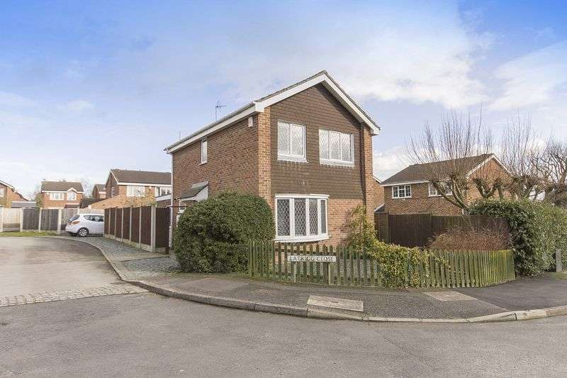 3 Bedrooms Detached House for sale in LATRIGG CLOSE, MICKLEOVER