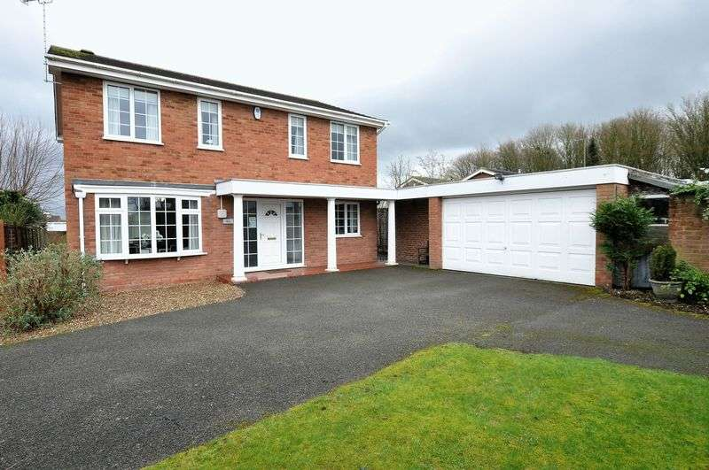 4 Bedrooms Detached House for sale in Meadow View, Rolleston on Dove