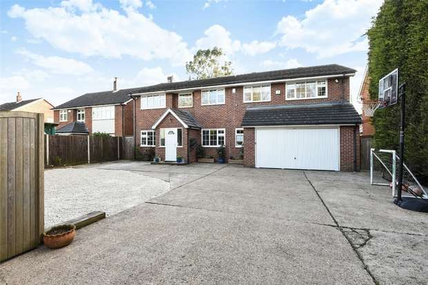 6 Bedrooms Detached House for sale in Reading Road, WINNERSH, Berkshire