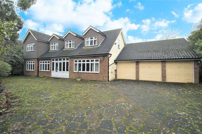 4 Bedrooms Detached House for sale in Ernest Road, Emerson Park