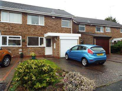 3 Bedrooms Semi Detached House for sale in Atcham Close, Redditch, Worcestershire