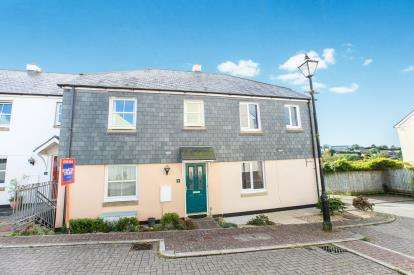 3 Bedrooms Terraced House for sale in Scarletts Well Park, Bodmin, Cornwall