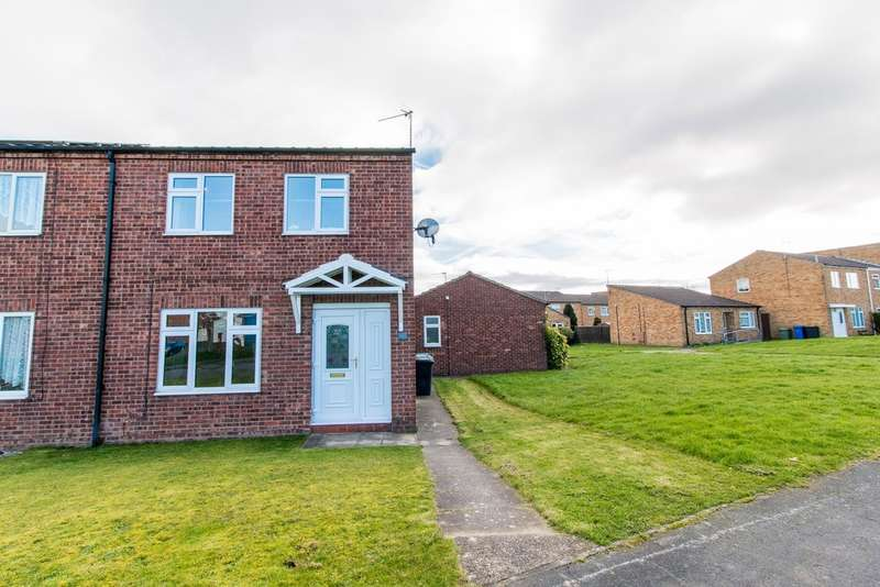 3 Bedrooms Semi Detached House for sale in Holme Hall Crescent, Chesterfield