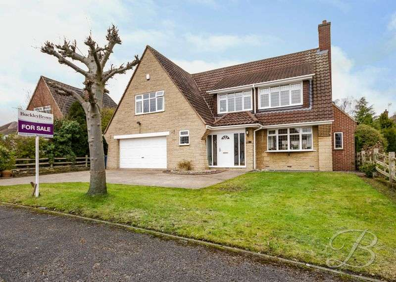 5 Bedrooms Detached House for sale in Pinewood Drive, Mansfield