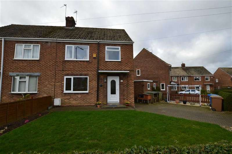 3 Bedrooms Semi Detached House for sale in Lambwath Villas, Skirlaugh, East Yorkshire