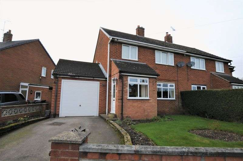 3 Bedrooms Semi Detached House for sale in Bentley Road, Uttoxeter
