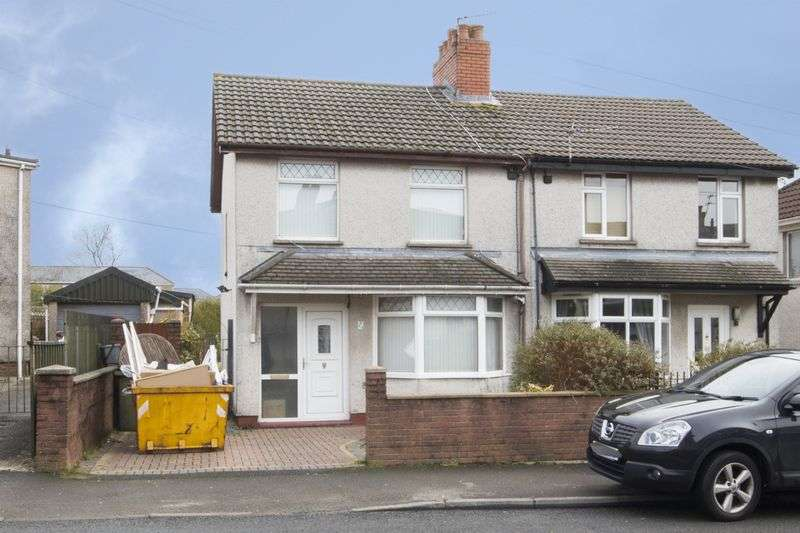 3 Bedrooms Semi Detached House for sale in Bedwellty Road, Blackwood
