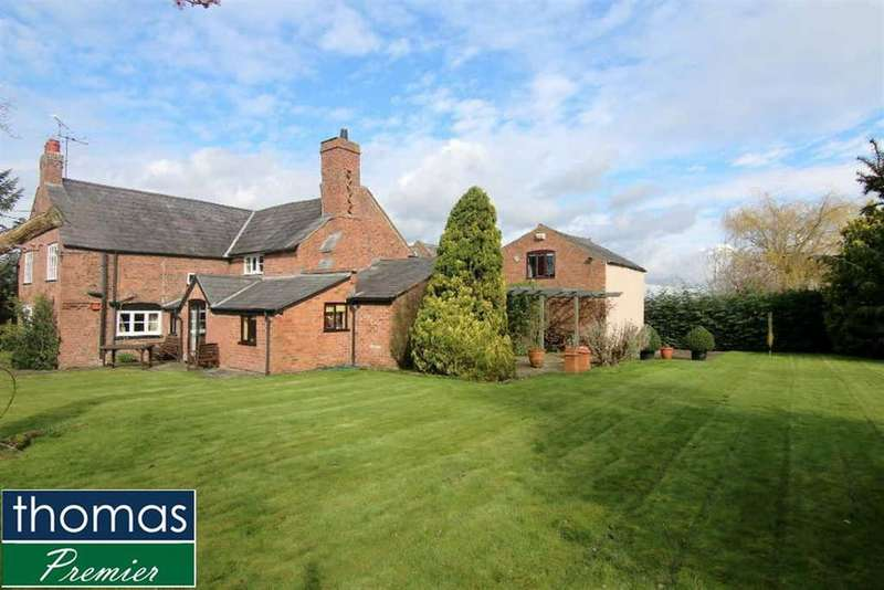 4 Bedrooms Detached House for sale in Wicker Lane, Guilden Sutton