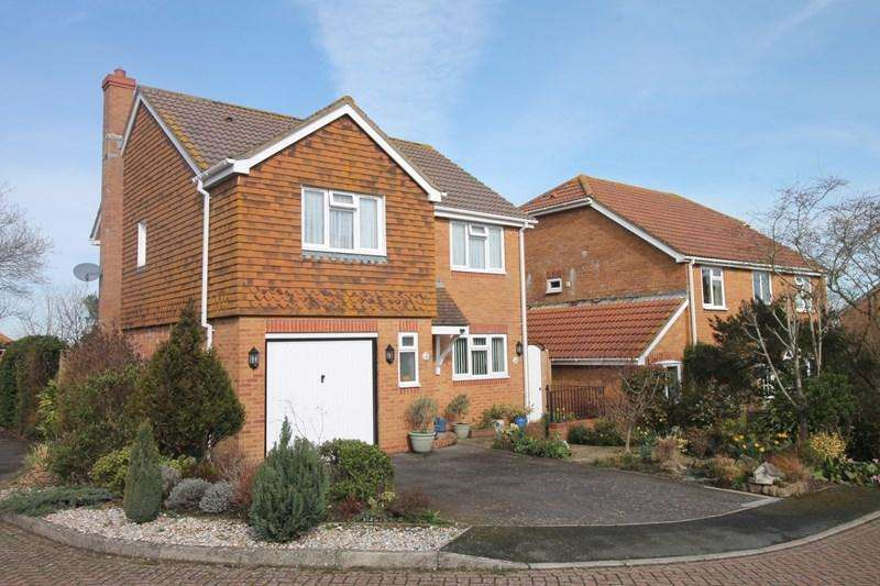 4 Bedrooms Detached House for sale in Wheelwright Close, Eastbourne