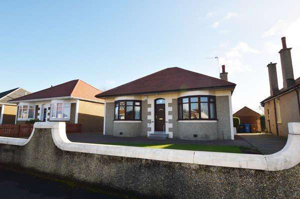 3 Bedrooms Detached Bungalow for sale in 14 West Doura Avenue, Saltcoats, KA21 5NR
