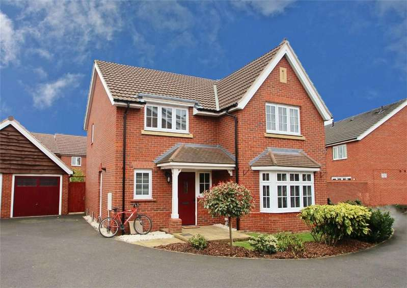 4 Bedrooms Detached House for sale in House Meadow, TIPTON, Dudley, West Midlands