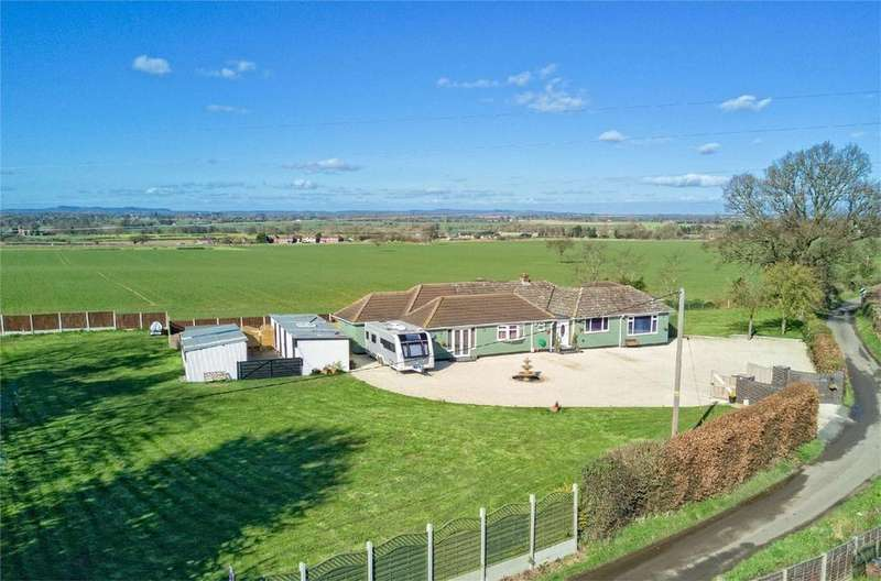 5 Bedrooms Detached Bungalow for sale in The Cherry Trees, Charlton, TELFORD, Shropshire