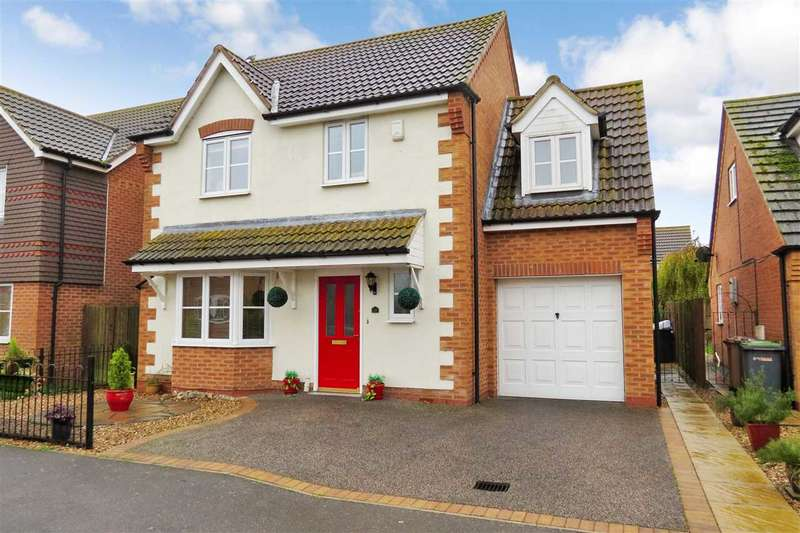 4 Bedrooms Detached House for sale in Field Road, Billinghay