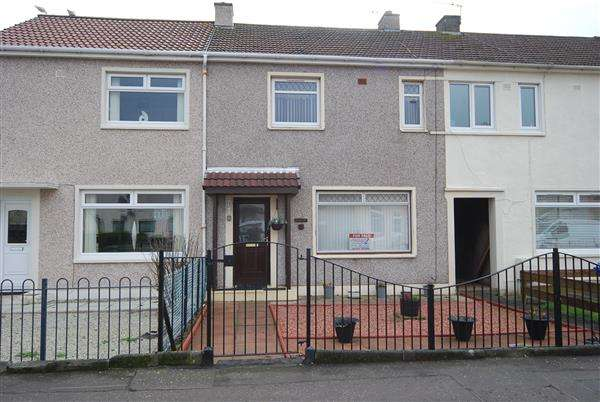 2 Bedrooms Terraced House for sale in Auchenharvie Road, Stevenston