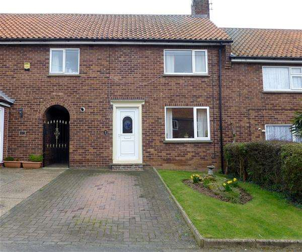 3 Bedrooms Terraced House for sale in Danby Road, Kiveton Park, Sheffield