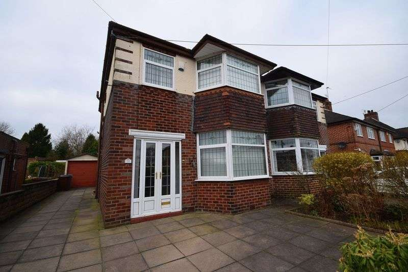 3 Bedrooms Semi Detached House for sale in Chell Green Avenue, Chell Heath