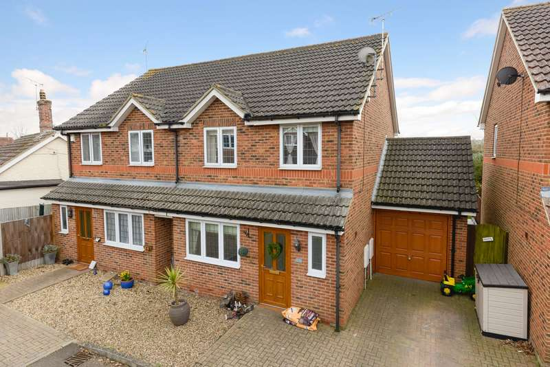 3 Bedrooms Semi Detached House for sale in The Hampshires, Maidstone, ME17
