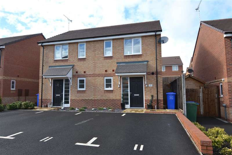 2 Bedrooms Semi Detached House for sale in Randolph Close, Stafford