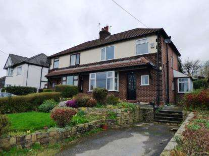3 Bedrooms Semi Detached House for sale in Lower Hague, New Mills, High Peak