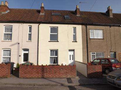 3 Bedrooms Terraced House for sale in Gloucester Road, Patchway, Bristol, Gloucestershire