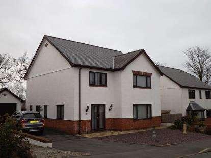 4 Bedrooms Detached House for sale in Gorseddfa, Criccieth, Gwynedd, LL52