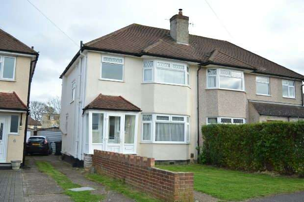3 Bedrooms Semi Detached House for sale in Daleside Road, West Ewell