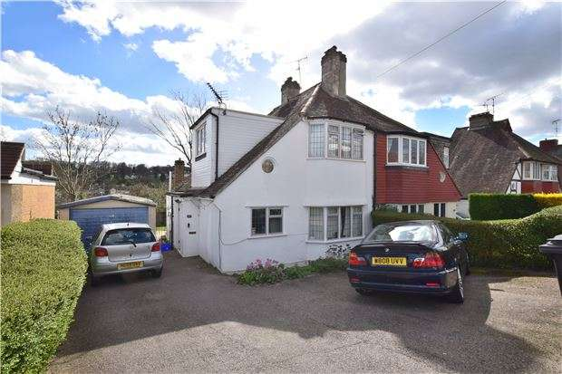 4 Bedrooms Semi Detached House for sale in St. Andrews Road, COULSDON, Surrey, CR5 3HL