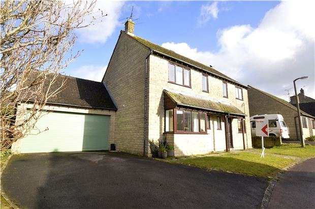 4 Bedrooms Detached House for sale in Greys Close, Bussage, Stroud, Gloucestershire, GL6 8HB