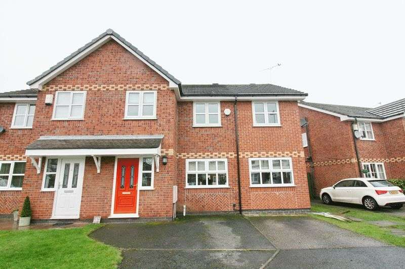 4 Bedrooms Semi Detached House for sale in Redpoll Close, Ellenbrook Worsley