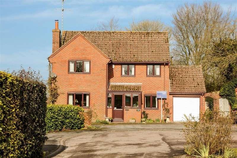 4 Bedrooms Detached House for sale in West Farm Close, Collingbourne Ducis, Marlborough
