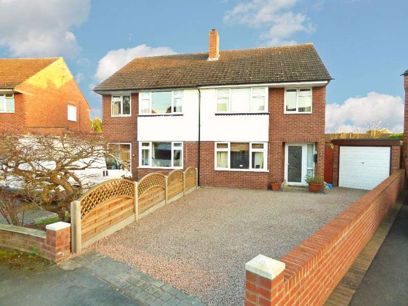 3 Bedrooms Semi Detached House for sale in Britten Close, Off Bodenham Road, Hereford
