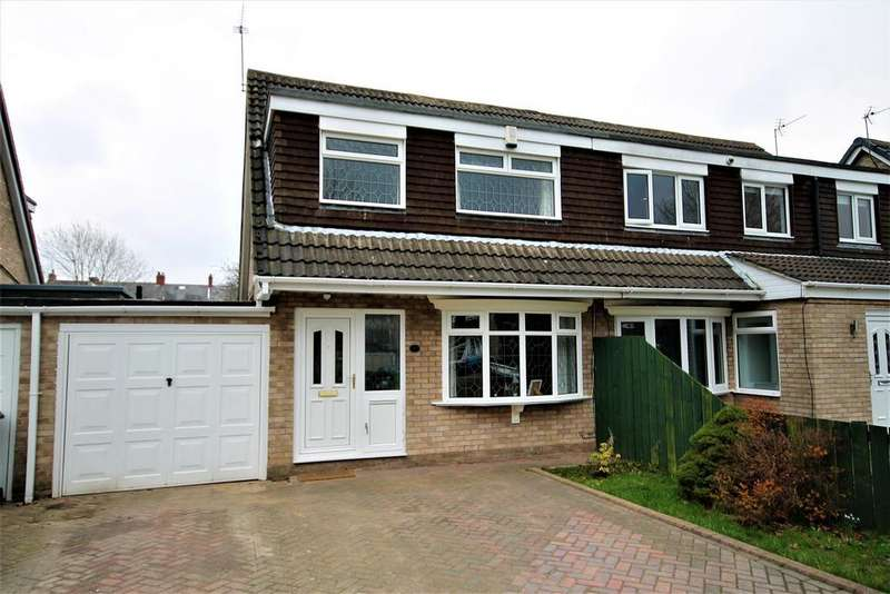 3 Bedrooms Semi Detached House for sale in Lumley Close, Spennymoor