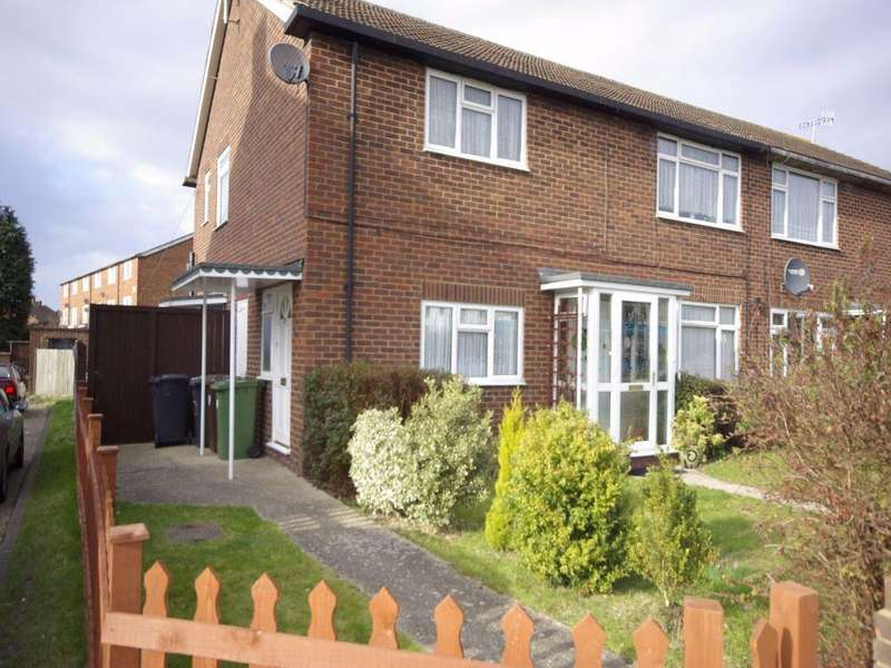 2 Bedrooms Maisonette Flat for sale in Harcourt Road, Bushey, Hertfordshire, WD23
