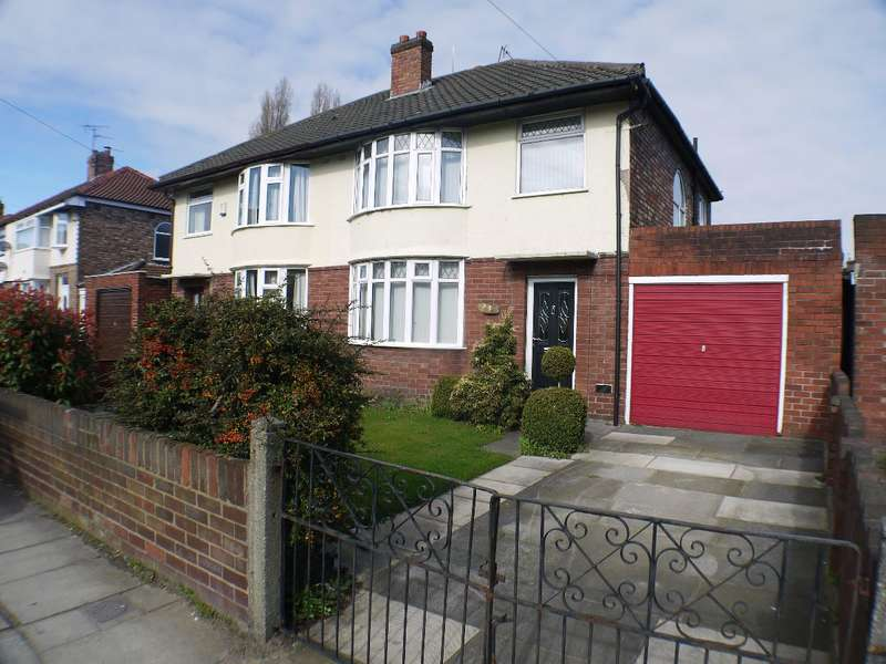 3 Bedrooms Semi Detached House for sale in Town Row, West Derby, Liverpool, L12
