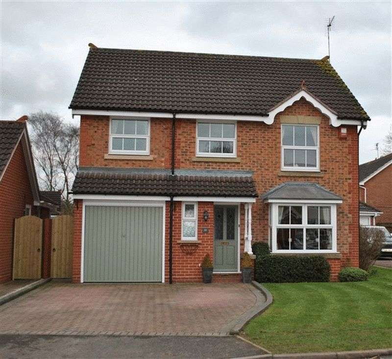 4 Bedrooms Detached House for sale in Bostock Close, Elmesthorpe