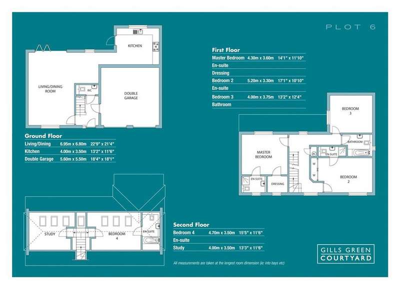 4 Bedrooms Detached House for sale in 4 Gills Green Courtyard, Cranbrook Road, Gills Green, Cranbrook, TN18