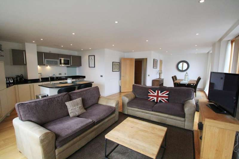 2 Bedrooms Apartment Flat for sale in WATERMANS PLACE, 3 WHARF APPROACH, LEEDS, LS1 4GQ
