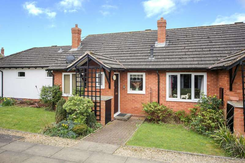 2 Bedrooms Terraced Bungalow for sale in Orchard Court, Tenbury Wells, Worcestershire, WR15 8EZ
