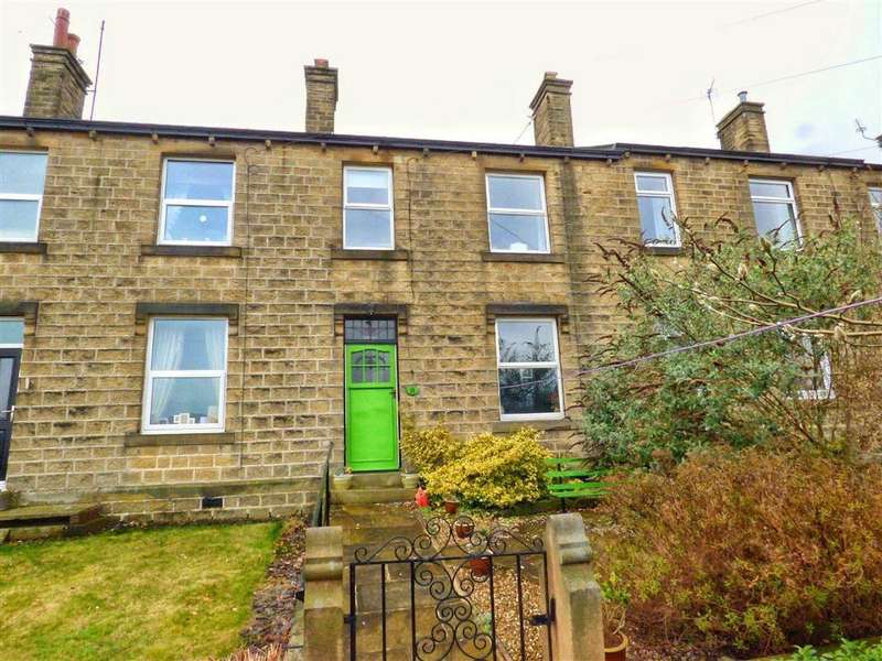 3 Bedrooms Terraced House for sale in The Terrace, Honley, HOLMFIRTH, West Yorkshire, HD9