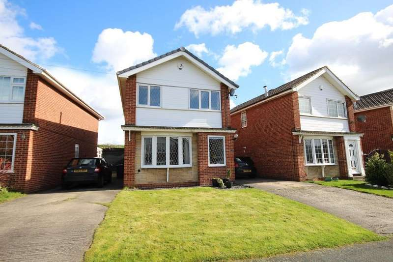 3 Bedrooms Detached House for sale in Stone Brig Green, Rothwell