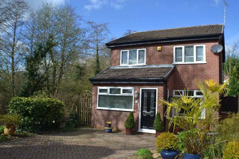 3 Bedrooms Detached House for sale in Glencoe Close, Holmes Chapel