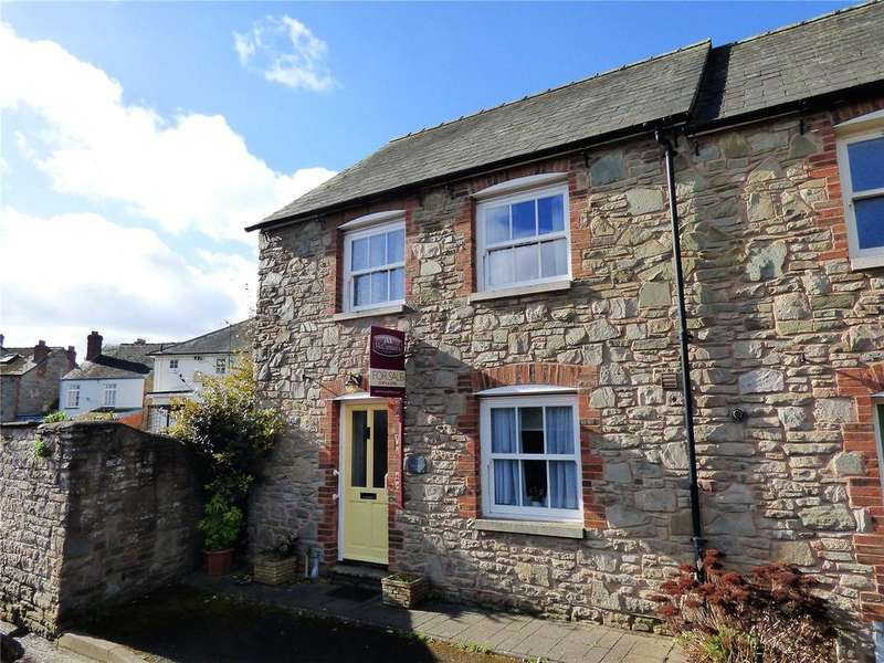 3 Bedrooms End Of Terrace House for sale in Chancery Court, Heol-Y-Dwr, Hay-on-Wye, Hereford