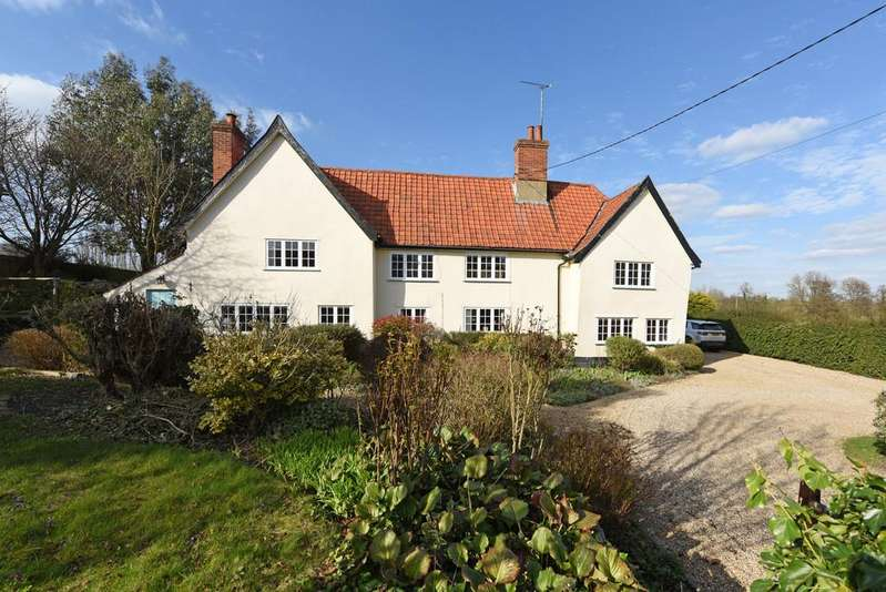 5 Bedrooms Detached House for sale in Great Bealings, Nr Woodbridge, Suffolk