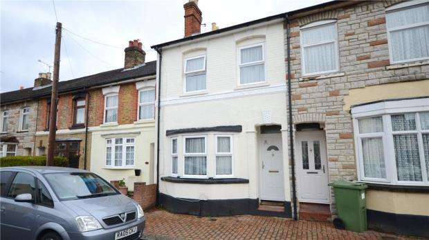 3 Bedrooms Terraced House for sale in Gordon Road, Aldershot, Hampshire