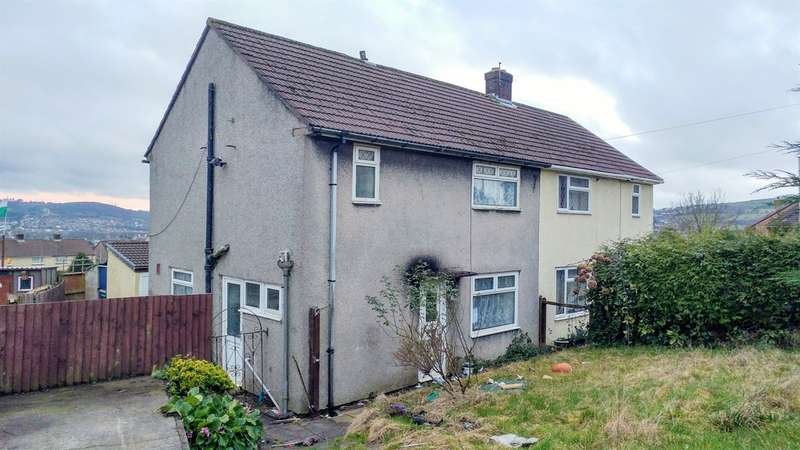 3 Bedrooms Semi Detached House for sale in Heol Aneurin, Caerphilly