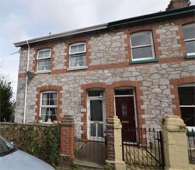 2 Bedrooms End Of Terrace House for sale in Waltham Road, Newton Abbot, Devon. TQ12 1LH