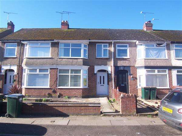 3 Bedrooms Terraced House for sale in Dartmouth Road, Coventry
